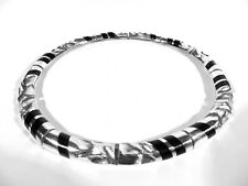 LAPPONIA Silber Ebenholz Collier Sahara ° Design Zoltan Popovits