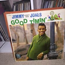 OG MONO Jimmy Jones Good Timin' LP Vinyl Handy Man Soul Jazz MGM Johnny Hammond