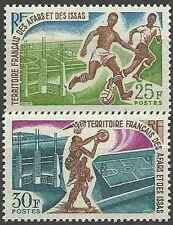 Timbres Sports Football Basket Afars et Issas 334/5 ** lot 14003