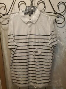 Polo Ralph Lauren Kids' Golf Shirts White Stripe XL 18-20