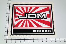 JDM CERTIFIED JAPAN Aufkleber Sticker Comic US Cars Biker V8 V2 OEM Decal Mi250
