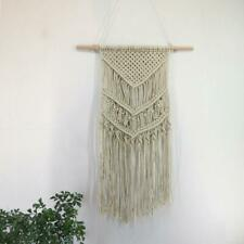 Macrame Woven Wall Hanging Tapestry Boho Chic Bohemian Home Geometric Art Decor