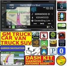 GM CAR-TRUCK-VAN-SUV KENWOOD GARMIN NAVIGATION CARPLAY  ANDROID AUTO BLUETOOTH
