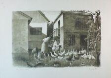 Spang Olsen Lithographie  G-3295