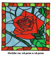 074 Window Color Bild Fensterbild Fenstersticker Fensterfolie Blumenecke