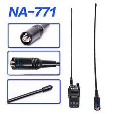 2 Way Radio NA-771 NA771 SMA-F SMA Female Black Antenna VHF/UHF 144/430MHz 10W