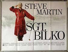 Cinema Poster: SGT. BILKO 1996 (Quad) Steve Martin Dan Aykroyd Phil Hartman