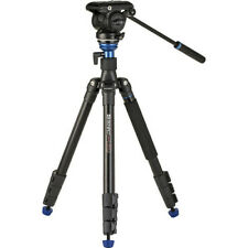 Brand New Benro A2883F Reverse-Folding Aluminum Tripod w/ S4Pro Video Head 31471