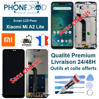 Écran complet LCD + tactile Xiaomi MiA2 Lite / Redmi 6 Pro + Outils, stock FR