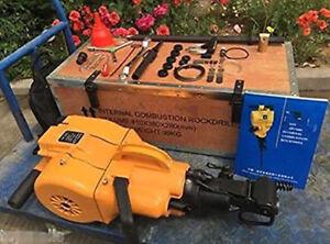 USA STOCK YN27 Pionjar Rock Breaker Hammer/Gasoline Rock Drill Machine