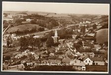 Postcard Braunton nr Barnstaple Devon view from East Hill posted 1960 RP