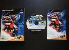 JEU Sony PLAYSTATION 2 PS2 : SSX (snowboard COMPLET envoi suivi)