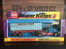 Matchbox Super Kings K-18B Rare Hoch&Tief Version near mint OVP excellent 1973