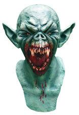 Hombre Completo Látex Altillo Zombie Demonio Máscara Halloween Gárgola Disfraz