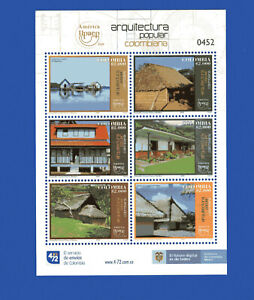 COLOMBIA, 2020, UPAEP, COMPLETE SET, MNH