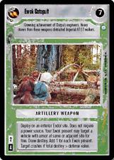 ++ Ewok Catapult ++ Star Wars CCG - Endor - SWCCG Decipher