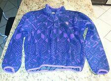 Vtg 90s Trek Synchilla Zip Fleece Shirt large lg Aztec Print USA Cycling Jersey