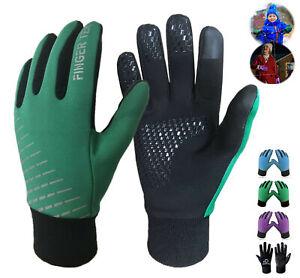 Winter Handschuhe Kinder Warm Boys Girls Gloves Fahrrad Sport Ski Schule DHL