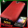 Custodia back cover leggera GRID ROSSA per HTC DESIRE