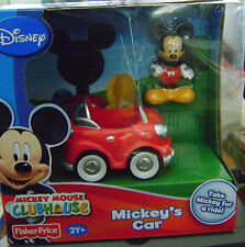 DISNEY MICKEY MOUSE CLUBHOUSE MICKEY'S CAR *NEW*