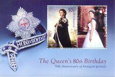 Australia-Queen Elizabeth 80th Birthday-Roayalty-mnh min sheet(2626)
