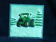 JOHN DEERE Winter Plaque-Model 7810 Tractor-Enesco-NIB