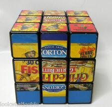 Gortons Fish Rubik's Cube advertising cube Promotional