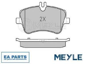 Brake Pad Set, disc brake for MERCEDES-BENZ MEYLE 025 231 4419