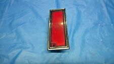 1980-1990 Chevrolet Caprice 80-1985 Impala LEFT REAR Side Lamp Marker Light OEM
