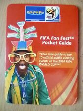 2010 FIFA World Cup Guide- FIFA Fan Fest Pocket Guide;10 Official Public Viewing