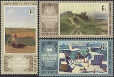 Russia 1980 Artists/Art/Painting/Landscapes/Farming/Rainbow 3v set (n44948)