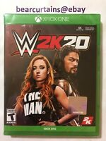 WWE 2K20 W2K20 2020 XBox One Brand New Factory Sealed Fast Ship with Tracking
