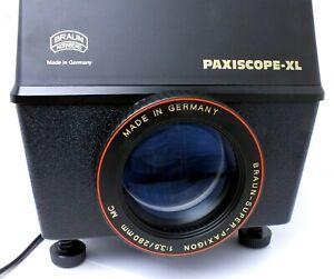 ✮ Braun Paxiscope XL Episkop Papierprojektor - Wie Neu! // vom Händler!