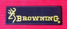 BROWNING PISTOL SHOTGUN RIFLE GUN MILITARY FIREARMS BADGE IRON SEW ON PATCH 1