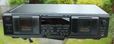 Sony TC-WE635 Dual Cassette Deck (A) (B) Tape Player / Recorder