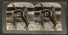 LEMAITRE FRANCE NIEUPORT AVIATION FORCES IN AMERICA VIRGINIA STEREOVIEW