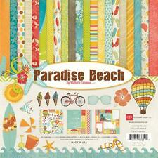 "Echo Park ~ "" PARADISE BEACH "" 12 x 12 Collection Kit ~ NEW ~ 2012"