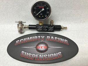 Shock Nitrogen Fill Tool No Loss Chuck 400# Air Fox King RZR Penske Strut ATV MX