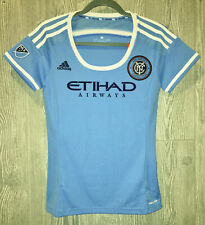 ADIDAS MLS New York City FC Blue Home Replica Soccer Jersey NEW Womens S L 2XL