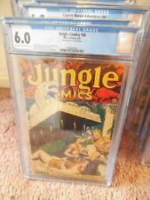 jungle comics 86.cgc.6.0.pre-code.