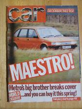 December Car Weekly Magazines
