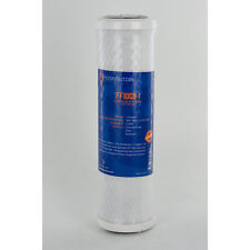 "Filters Fast Brand 10"" 1 Micron Carbon Water Filter, Compatible Pentek CB1-10"