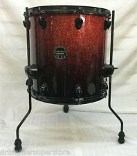 "Mapex Armory 14""x14"" Floor Tom Drum Magma Red with Black Hardware"