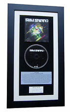 SAM SPARRO Black & Gold CLASSIC CD Album GALLERY QUALITY FRAMED+FAST GLOBAL SHIP