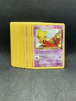 Complete Pokémon Team Rocket Set 24 cards NM-Mint WOTC Vintage Original