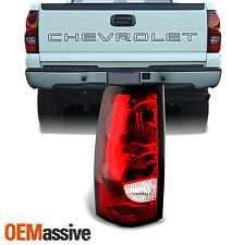 Fit 2003-2006 Chevy Silverado Pickup Driver Side Tail Lights Brake Replacement