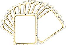 Barker Creek Computer Paper 2 Pack 100 sheets- Gold BC3624