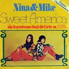 """7"""" NINA & MIKE Sweet America FAMILY DOGG / Irgendwann fängt die Liebe an ARIOLA"""