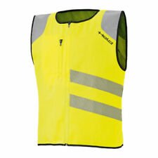 Gilet e smanicati giallo per motociclista taglia XXL
