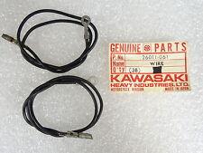 Kawasaki NOS NEW  26011-061 Turn Signal Lead Wire (2) F6 F7 F9 F11 G3 G4 1969-88